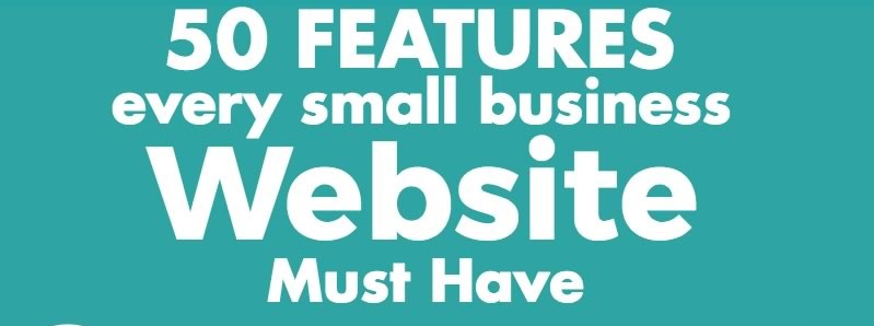 50 Features Every Small Business Website Must Have For Growth