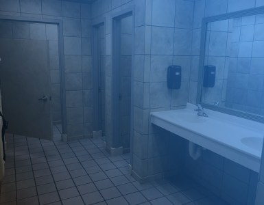 arrested man threatens to blow up bathroom dapulse news