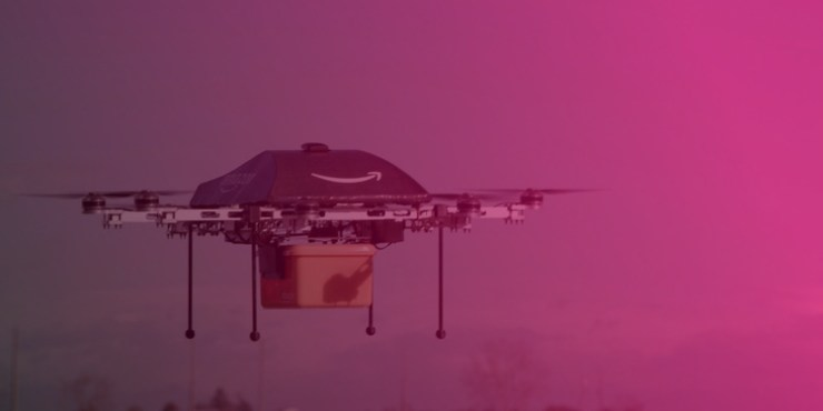 amazon drones dapulse technology