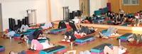 Ein Fitnessstudio ist in der DAA-Weiden integriert.