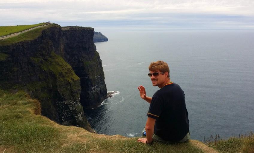 Marco in Irland, Juni 2015