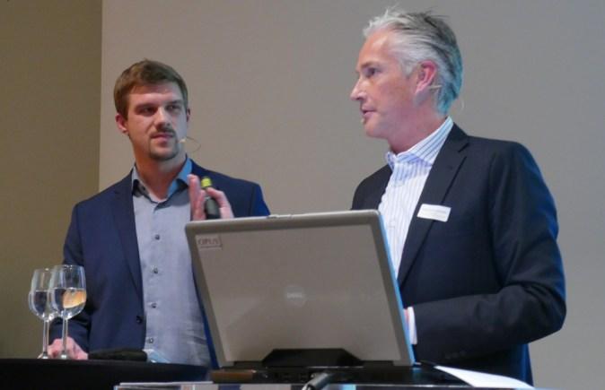Marco Riederer und Thomas Reisenzahn zum Thema Dynamic Pricing (c) Fotodienst/Wilfried Seywald