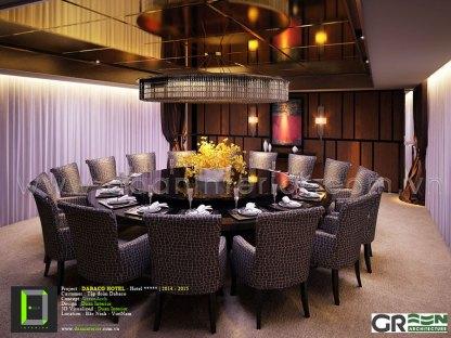Khu vực Nhà hàng DABACO Hotel