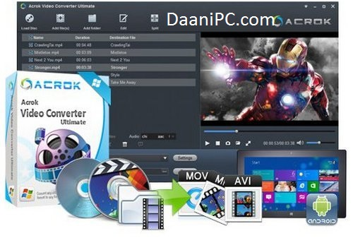 Acrok Video Converter Ultimate Crack With Serial Key Free Download