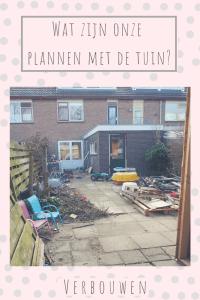 verbouwing verbouwen huis Texel verhuizing bouwval klussen tuin veranda