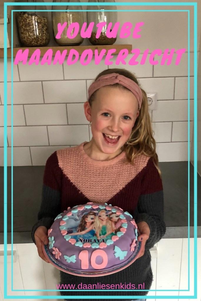 youtube maandoverzicht februari - mama blog- mama blog - verjaardag - taart maken