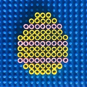 paas strijkkralen paasstrijkkralen strijkkralen strijkkraal patroon paasei pasen