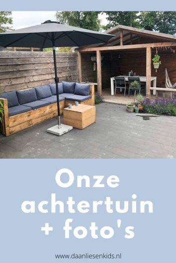 achtertuin tuin - tuininspiratie - veranda - inspiratie lifestyle blog -