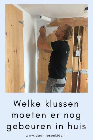 Welke klussen moeten er nog gebeuren in huis - verbouwen - verbouwing - bouwval opknappen - blog