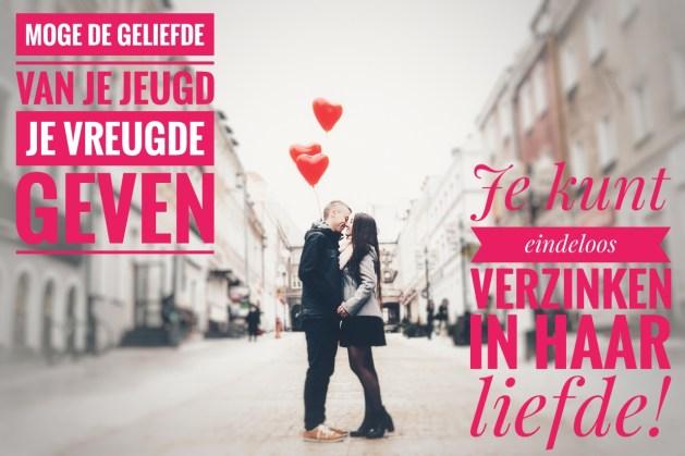 Nieuwjaarswensen voor 2018: Geniet van je vrouw, verzink in haar liefde!