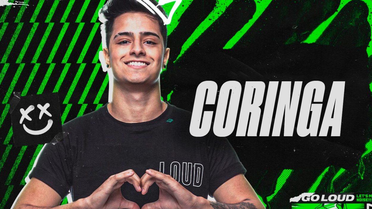 Loud Coringa ganhador do Celebs Brasil