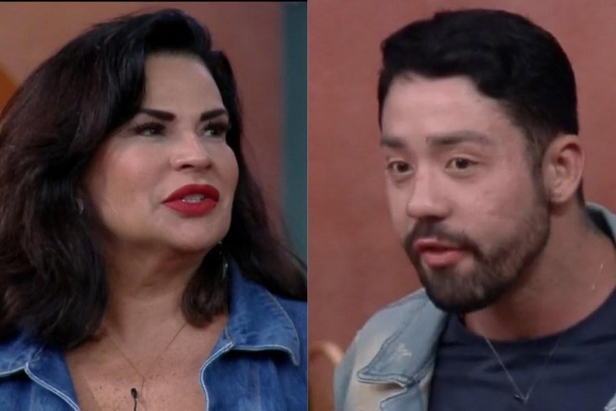 Solange Gomes e Rico Melquiades em A Fazenda 13