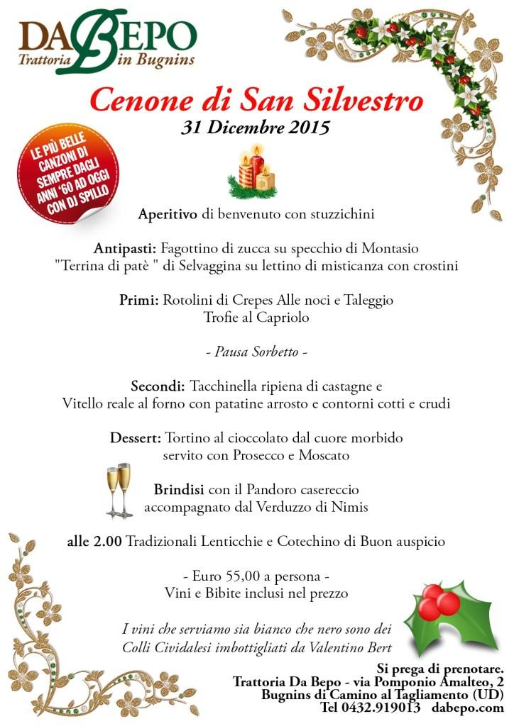 Capodanno Da Bepo 2015 724x1024 Menu del cenone di San Silvestro