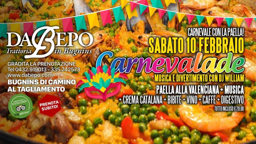 Carnevalade Paella 1024x576 CARNEVALE CON LA PAELLA!  SABATO 10 FEBBRAIO