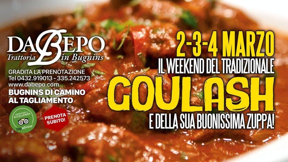 Goulash 1024x576 2 3 4 Marzo, il weekend del Goulash e della sua zuppa