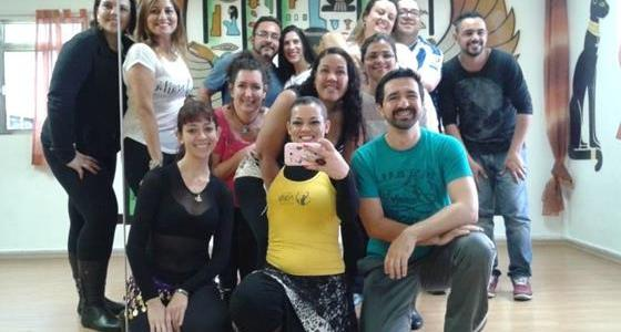 Workshop de Dabke no Espaço Najla de Dança do Ventre