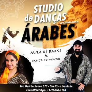 Aulas de Dança do Ventre e Dabke