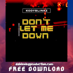Dont let me Down Cover 480.png
