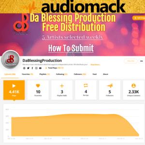 Audiomack Slider