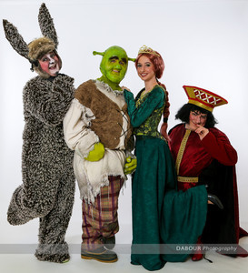 "Photos of SKIT's upcoming ""Shrek the Musical"" publicity photos. Photo by DAVE DABOUR"