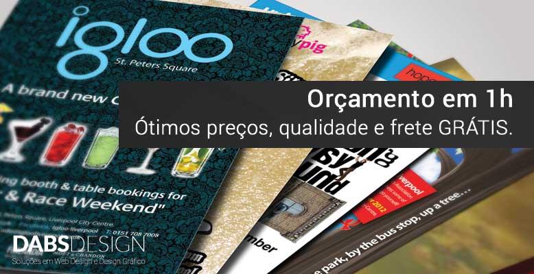 Impressão Gráfica em Curitiba é com a Dabs Design