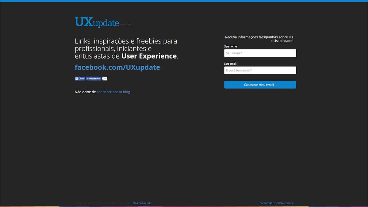 ux-update-web-site