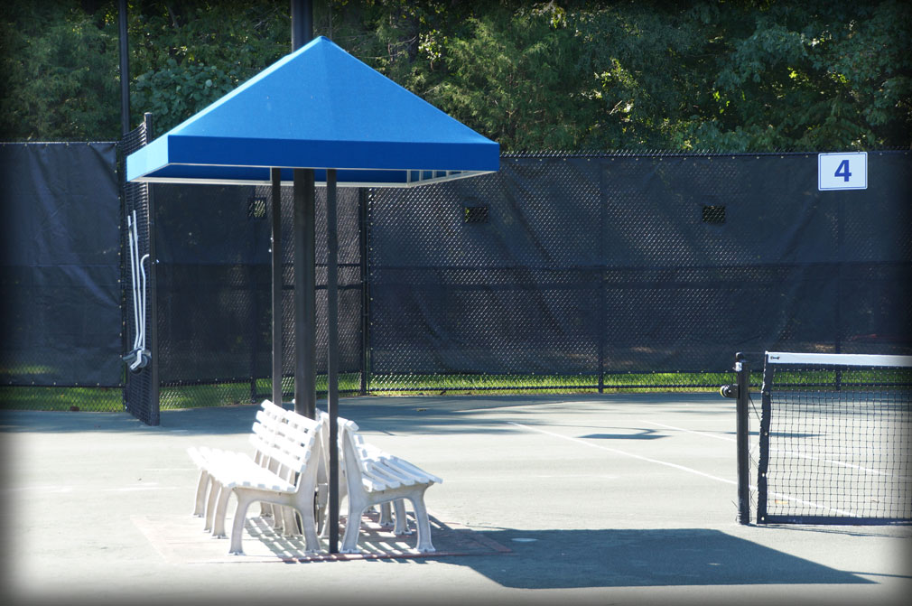 Tennis Bench Shade Covers Amp Tennis Stand Shade Pavilions