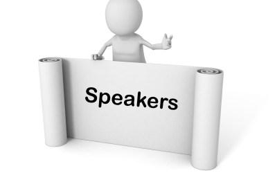 Speaker Listing Improvements