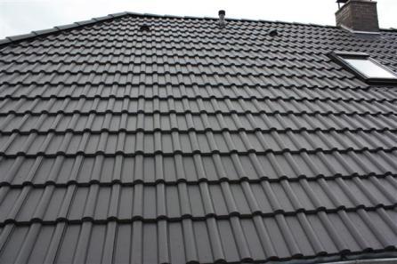 Beschichtete Dachfläche
