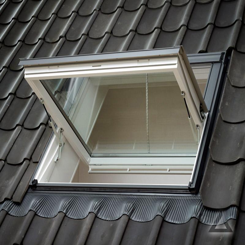 velux rauchabzugsfenster ggl mk08 306640 klar lackiert energie plus alu 78x140 cm