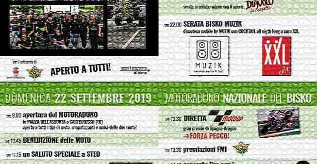 Motoraduno Bisko 2019