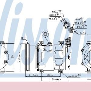 Compressor, airconditioning