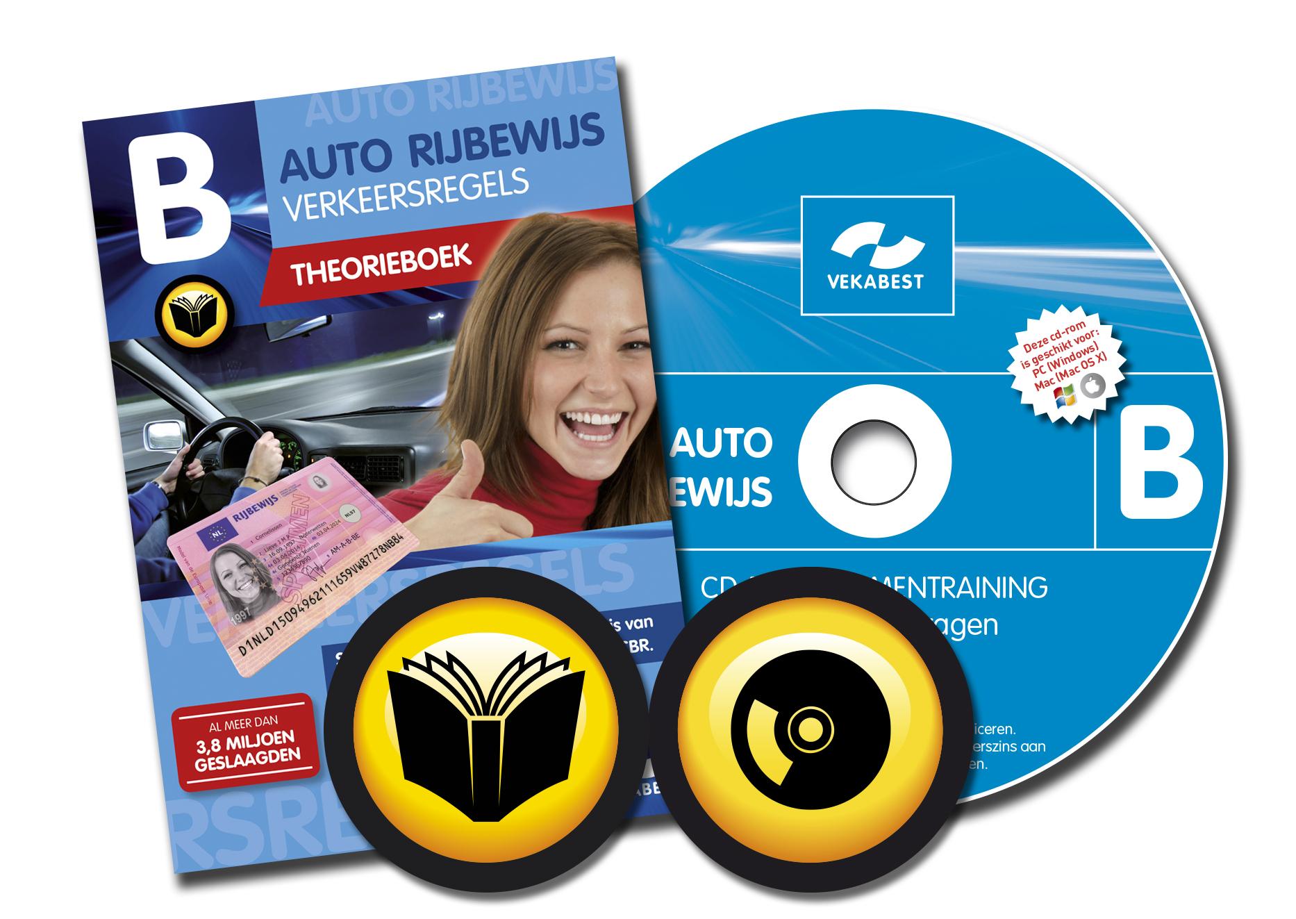 Auto theorieboek + CD-ROM