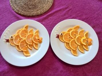 peixes cor-de-laranja