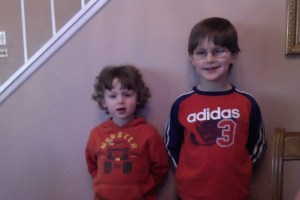 The Boys, post haircuts