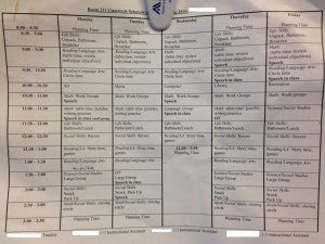 The Monster's Schedule, SY 2015-2016