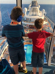Monster and R in the North Star, Anthem of the Seas, October 2018