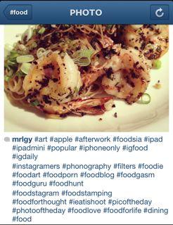 Hashtag dans Instagram