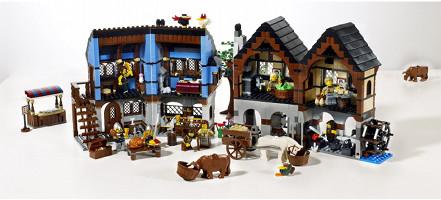 Le village médiéval.