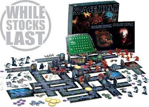 Space Hulk Box content.