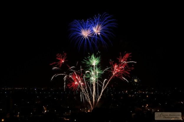 feu artifice arcueil 13 juillet 2013