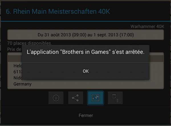 Android profil limité géolocalisation