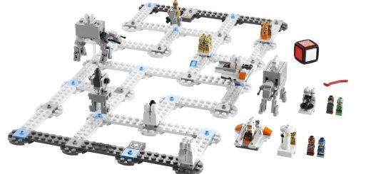 LEGO 3866 bataille Hoth contenu
