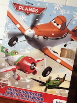 Calendrier Avent Planes