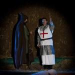 Crèche vivante, Saint François en croisade