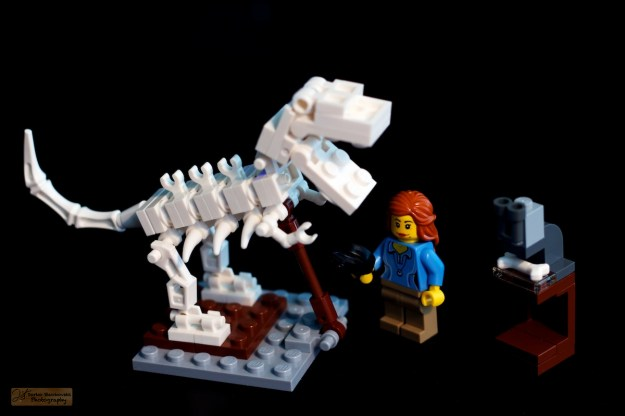 La paleontologue
