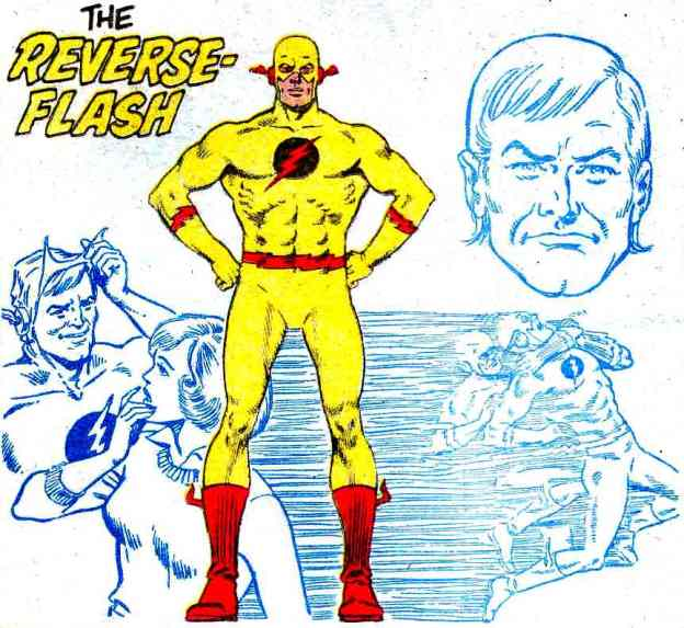 comics Reverse Flash