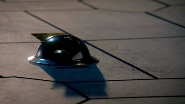 Le casque de Jay Garrick dans le final de la première saison.