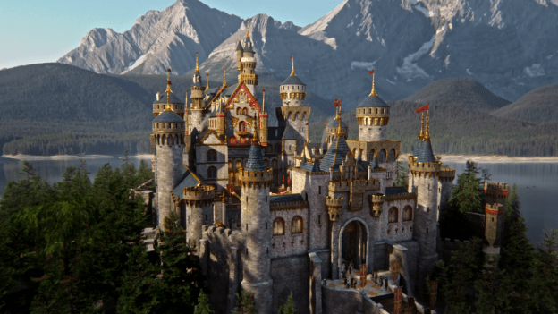 Le chateau de Camelot dans la série Once Upon a Time (abc)