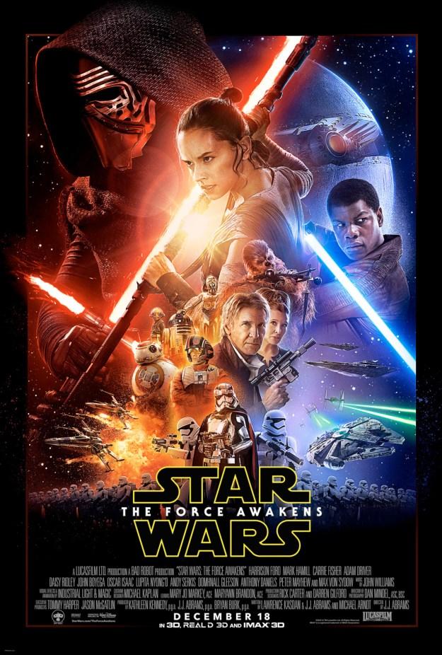 Poster Star Wars Force Awakens